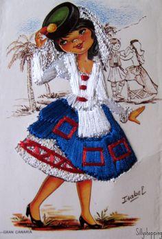 Vintage Isabel Embroidered Girl Card  Flickr - Photo Sharing! (435x642, 710Kb)