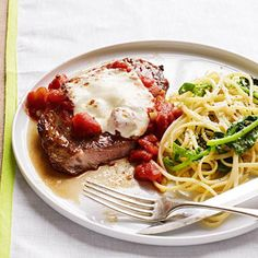 Steak Pizzaiola & Pasta