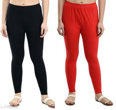 Leggings & Tights  Casual Ankle Length Leggings Combo of 2 Fabric: Cotton Lycra Pattern: Solid Multipack: 2 Sizes:  34 (Waist Size: 34 in, Length Size: 37 in)  36 (Waist Size: 36 in, Length Size: 37 in)  38 (Waist Size: 38 in, Length Size: 37 in)  28 (Waist Size: 28 in, Length Size: 37 in)  40 (Waist Size: 40 in, Length Size: 37 in)  30 (Waist Size: 30 in, Length Size: 37 in)  32 (Waist Size: 32 in, Length Size: 37 in)  Country of Origin: India Sizes Available: 28, 30, 32, 34, 36, 38, 40   Catalog Rating: ★3.9 (470)  Catalog Name: Gorgeous Feminine Women Leggings Combo of 2 CatalogID_2228800 C79-SC1035 Code: 953-11769651-768