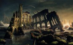 abandoned temple fantasy - Google Search