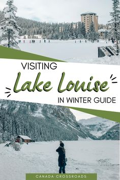 Guide to Lake Louise Winter activities | Lake Louise ice skating, dog sledding, romantic staycation, wedding, and more | BeautifulLake Louise photography Banff National Park Canada #lakelouise #canada #winterwonderland
