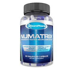 NuMatrix – Memory, Focus, and Brain Supplement – NuMatrix is a balanced and effective nootropic supplement. NuMatrix targets cognitive enhancement from a variety of angles by providing users with increased levels of focus, improved concentration, and a balanced memory support blend.