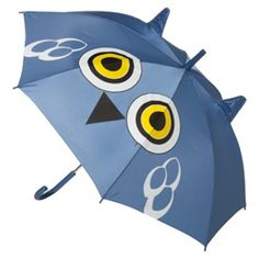 This fun owl umbrella will protect your kids from rainy days.