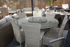 #lounge #dining #furniture #rattan #wicker #table #garden #patio #design #luxury