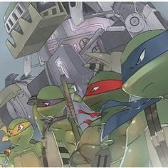 Tmnt- about to enter the figth