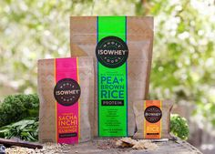 IsoWhey Wholefoods on Packaging of the World - Creative Package Design Gallery