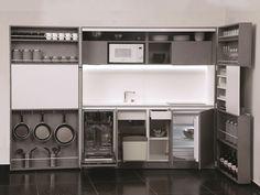 Pop-up kitchen PIA tex by Dizzconcept by Inkea