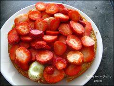 Jeanys cooking: Ricotta cheescake met aardbeien, zonder geraffineerde suiker