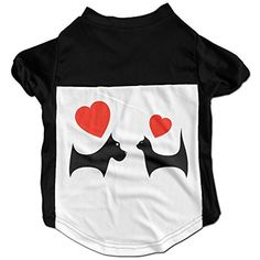 Dog And Cat Love Cute Pet Shirt For Small Dogs Cats * You can find more details by visiting the image link. (This is an affiliate link) #DogApparelAccessories