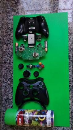 Agora é só enquadrar. Controle do Xbox 360 sem fio.