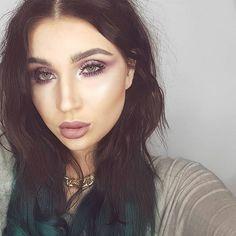 Nothing is Promised  eyes @makeupgeekcosmetics  Brows, lips and highlighter @colourpopcosmetics  Foundation @beccacosmetics  Setting powder @illamasqua  Contour @hourglasscosmetics  Lashes @xobeautyshop  #mystesebeauty #makeupgeek #makeupideas #colourpop #mattelips #pinkmakeup #highlighter #hourglasscosmetics #xobeauty #beccacosmetics #shaaanxo #contour #lashes #contactlenses #motd #fashion #style #glittereyes #nz #design