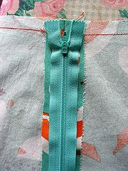 Great step-by-step #tutorial for installing a #zipper into a garment, but can be used for all types of #sewing projects.