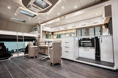 Welcome to Sovereign Horseboxes. Designers and Manufacturers of quality, bespoke, luxury horseboxes and trucks. House With Stables, Horse Box Conversion, Horse Barn Plans, Rv Makeover, Compact Living, Horse Trailers, New Home Designs, Transportation Design, Rv Life