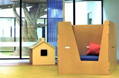 Kinkeli-switch, room in the room, in a new kindergarten in Norway!