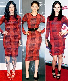 Who Wore It Best: Kat Von D, Kristen Stewart or Krysten Ritter?