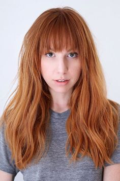 The Top 5 Spring Hair Trends To Take L.A. #refinery29  http://www.refinery29.com/la-hair-stylist-spring-trends-2016#slide-14  Shades Of RedStylist: Buddy Porter (cut) and KC Carhart (color)Salon: Ramirez|TranWha...