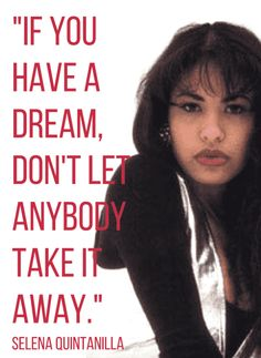 Selena Quintanilla Quotes New Pinpaola Ocanto On Words Of Wisdom  Pinterest  Selena Selena . Decorating Inspiration
