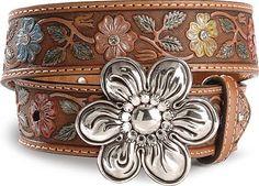 Cute lil girls cowgirl belt!
