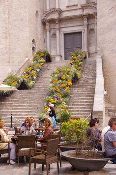 Girona  Temps de Flors  (Maig)  Catalonia
