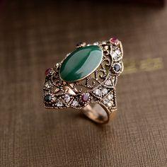 Cristales Austriacos Clásico patrón de La Vendimia Real 18 K Chapado En Oro Rosa…
