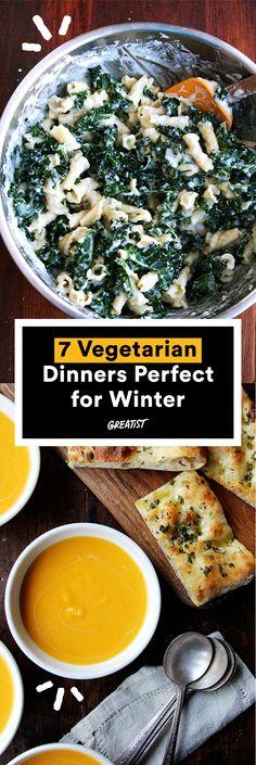 Get those forks ready. #vegetarian #dinner #recipes http://greatist.com/eat/healthy-dinner-recipes-for-vegetarians