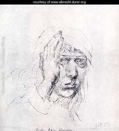 Self-Portrait with Bandage - Albrecht Durer - www.albrecht-durer.org