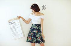 #다홍 #dahong #여름 #스커트 #summer #skirt #beachwear