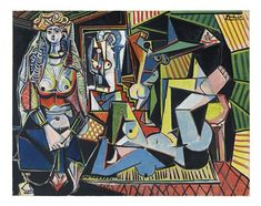 Christies-PICASSO FEMMES D'ALGER.... Sold for a record $179,365,000 at an auction Monday in New York, at Christie's