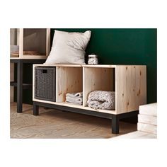 NORNÄS Bench with storage compartments  - IKEA