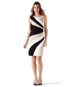 I got this dress a few weeks ago. LOVE IT!!!   Dresses, Skirts, Knits & More - White House   Black Market