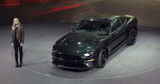 All-New 2019 Mustang Bullitt Unveiled With More Power And Signature Exhaust #Detroit_Auto_Show #Ford
