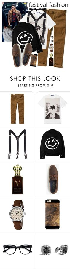 """""""Men wear"""" by madeinmalaysia ❤ liked on Polyvore featuring Hollister Co., Junya Watanabe, MANGO MAN, Clive Christian, J.Crew, Wenger, Samsung, John Hardy, men's fashion and menswear"""