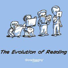 az olvasás evolúciója
