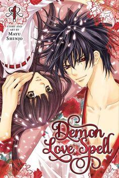 Mayu Shinjo's Demon Love Spell (Ayakashi Koi Emaki) I'm so glad this came out.  I just adore Mayu Shinjo's work (Kaikan Phrase, Ai Ore!, Akuma na Eros, etc.)! \(^_^)/