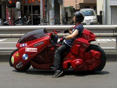 Modded Scooter Futuristic Motorcycle Akira Http Psipunk Com