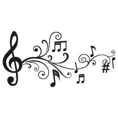 dibujos notas musicales - Buscar con Google