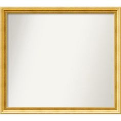 Amanti Art Townhouse Gold Mirror Size: