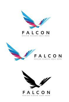 Falcon Logo by goodigital Falcon Logo, Airline Logo, Bird Logos, Real Estate Logo, Creative Sketches, Pencil Illustration, Logo Design Inspiration, Design Ideas, Modern Logo