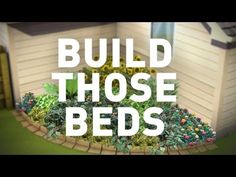 Ready to get your garden started? Here are 3 tips in 30 seconds thatll help you build those garden beds.   One: Plan out your garden ahead of time. Group plants with similar colors and put small plants in the front and taller plants in the back.  Two: Location, location, location. Different plants like different amounts of sunlight, so choose y...