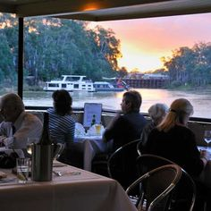 Evening Steaming Dinner Cruise Redgums on PS Emmylou Oz Tour Guide