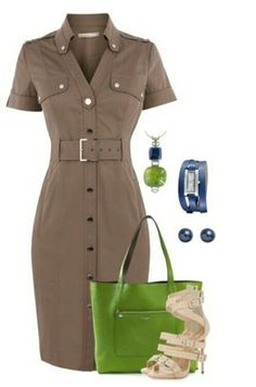 Casual earth toned outfit
