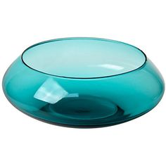 Pre Owned Modernist Large Glass Bowl 3 880 Uah Liked On Polyvore