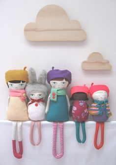 Handmade Plush Dolls for Adults and Children alike