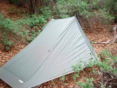 The One tarp tent from Gossamer Gear, designed by our friend Rik Christensen.