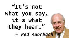 Red Auerbach - Heard