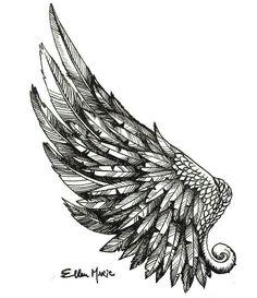 angel wings tattoo tumblr ile ilgili görsel sonucu