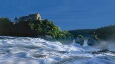 The Rhine Falls - Switzerland TourismSankt Goar und Sankt Goarshausen ,Luftbild Luftbilder Luftaufnahme Luftaufnahmen,vue aérienne,aerial photo
