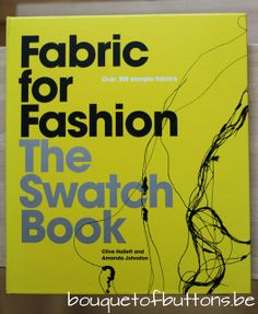 Review Fabric for Fashion The Swatch Book by A Bouquet of Buttons, via Flickr