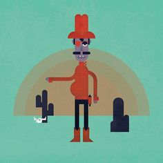 Character Illustrations on Behance