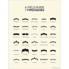 typeface meets the mustache